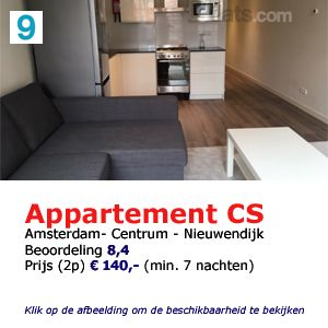 appartement centraal station