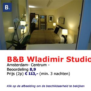 wladimir studios bed and breakfast amsterdam