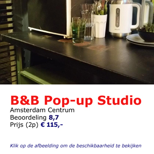 pop-up bachelor bed and breakfast amsterdam