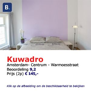 bed and breakfast amsterdam kuwadro
