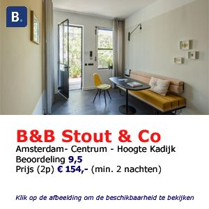 Stout & Co bed and breakfast amsterdam